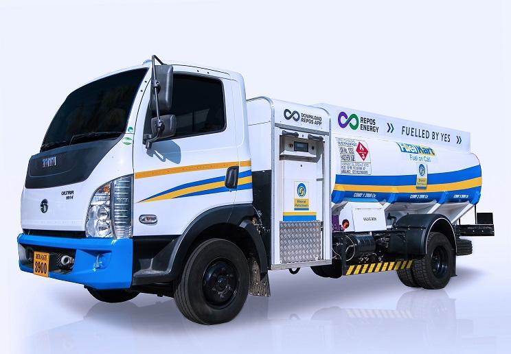 Mobile fuel van - RPP