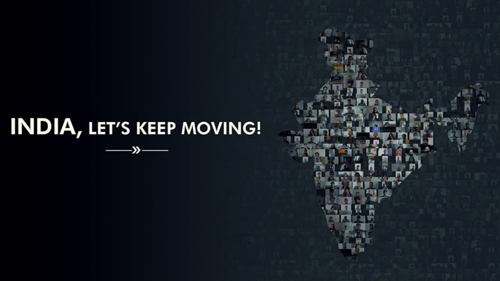 India, Let's Keep Moving!